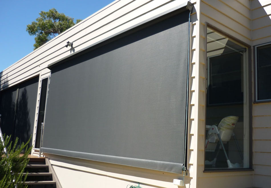 Awnings melbourne canvas screen tinted pvc for Canvas privacy screen outdoor