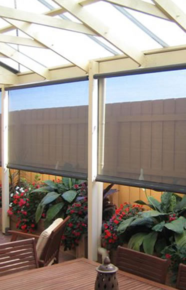 Cafe Blinds Cheltenham Melbourne Tinted Pvc Clear